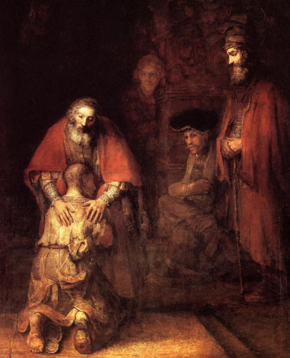 Rembrandt, Il ritorno del figliol prodigo (1668)
