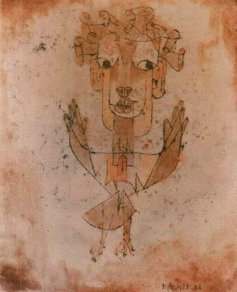 Paul Klee, Angelus Novus (1920)