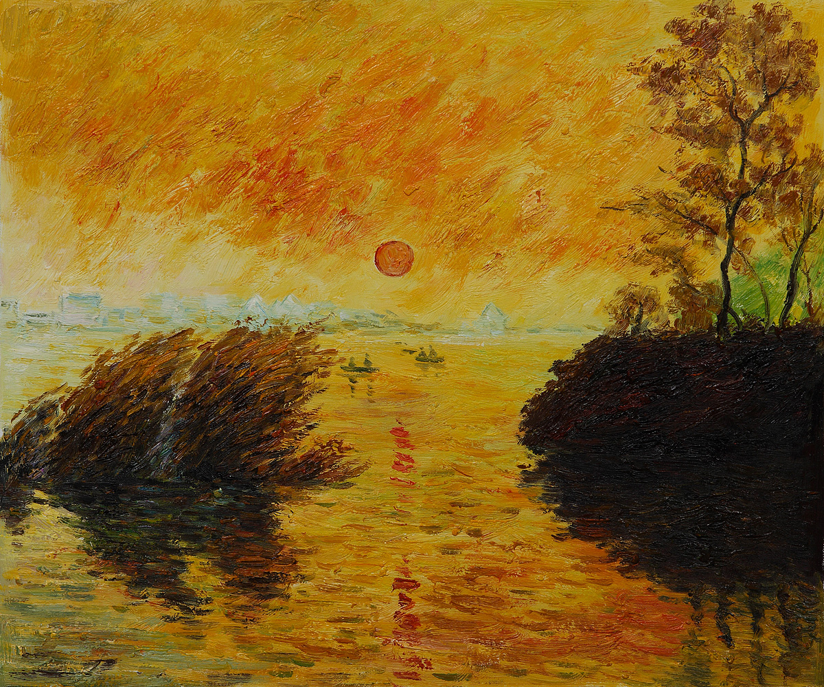 8# In cammino, verso un tramonto