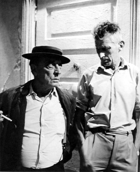 Buster Keaton e Samuel Beckett