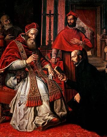 Paolo III approva la Formula instituti di Ignazio (1539)