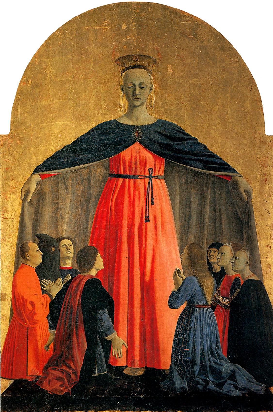 Piero della Francesca, Madonna della Misericordia (1444-1464 circa)