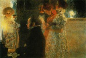 Schubert al Piano, Gustav Klimt