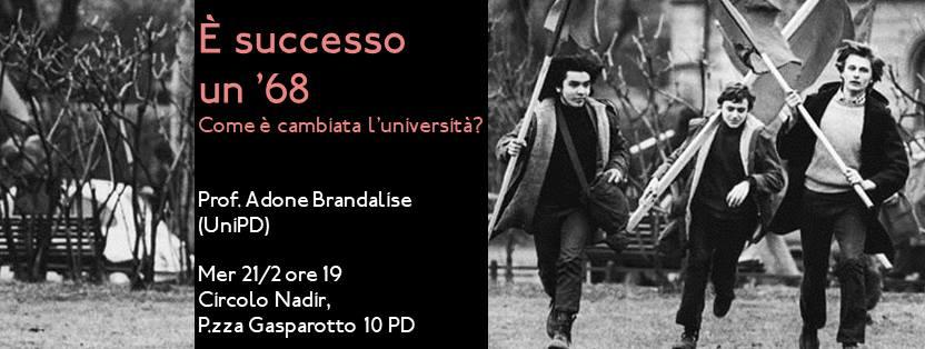 È successo un '68: come è cambiata l'università?
