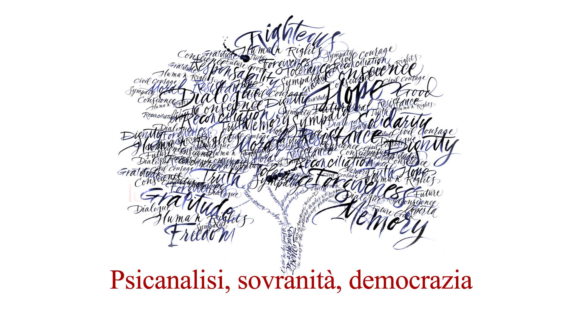 Psicanalisi, sovranità, democrazia
