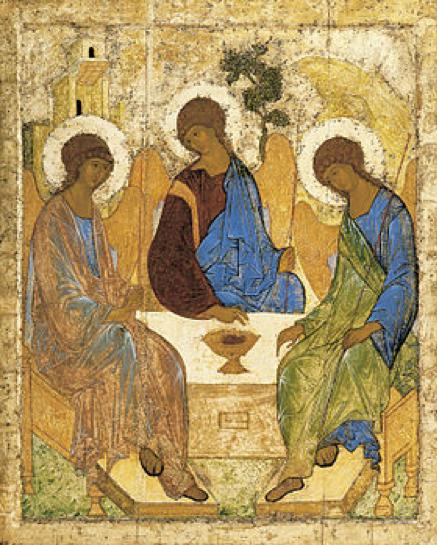 """Su """"La trinità di Rublev"""""""