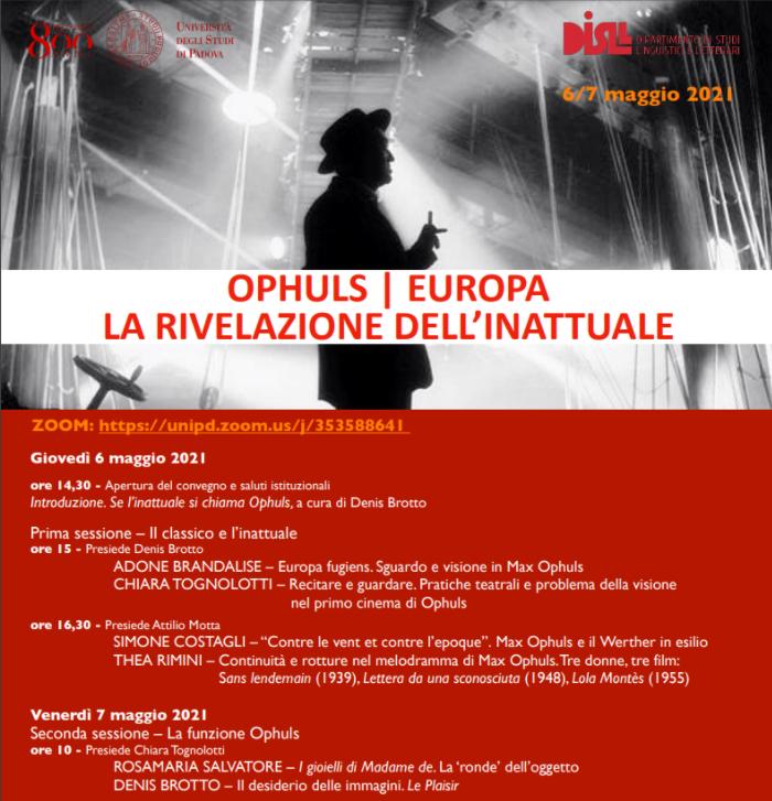 Europa fugiens. Sguardo e visione in Max Ophuls
